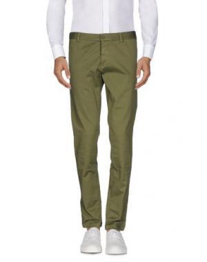 Повседневные брюки BASICON. Цвет: изумрудно-зеленый