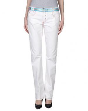 Джинсовые брюки BROOKSFIELD. Цвет: белый
