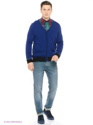 Кардиган Colin's. Цвет: голубой