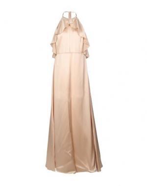 Длинное платье JILL STUART. Цвет: бежевый