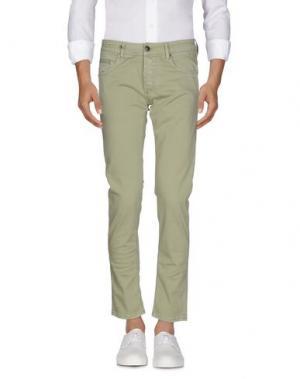 Джинсовые брюки DW⁵. Цвет: светло-зеленый