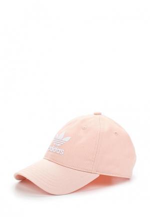 Бейсболка adidas Originals. Цвет: розовый
