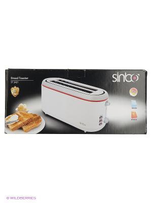 Тостер Sinbo ST 2421 1300Вт белый/красный. Цвет: белый