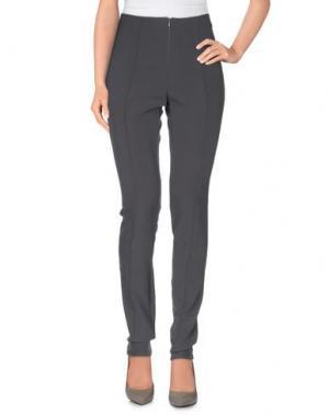 Повседневные брюки LUIS CIVIT. Цвет: свинцово-серый