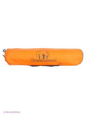 Тент со стойками GREENWOOD. Цвет: оранжевый