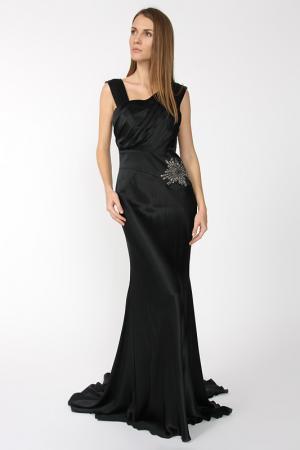 Платье вечернее Dina Bar-El. Цвет: черный