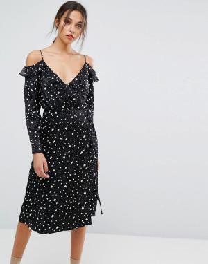 Essentiel Antwerp Платье Oba. Цвет: черный