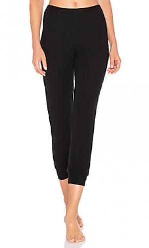Легковесные брюки для лаунджа Only Hearts. Цвет: черный