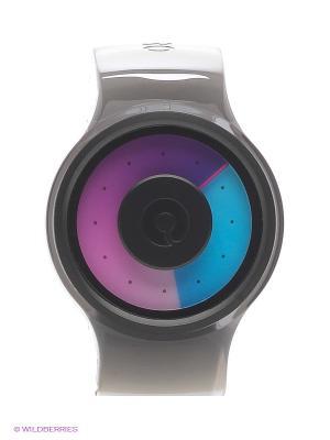 Часы Proton Black Purple Ziiiro. Цвет: лиловый, прозрачный, серый