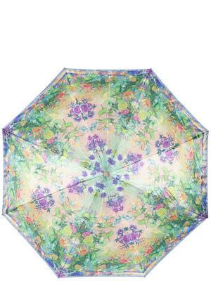 Зонт Eleganzza. Цвет: бежевый, зеленый, фиолетовый