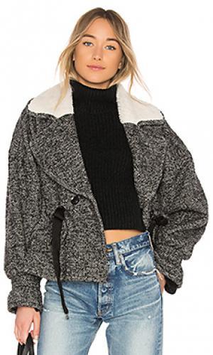 Куртка из букле annalise Marissa Webb. Цвет: черный