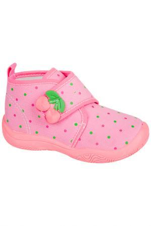 Текстильная обувь MURSU. Цвет: розовый