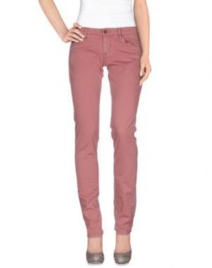 Повседневные брюки UNLIMITED. Цвет: пастельно-розовый
