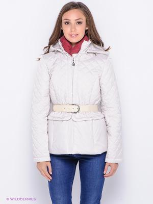 Куртка Lawine. Цвет: молочный