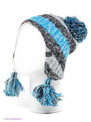 Шапка Ensis. Цвет: черный, голубой