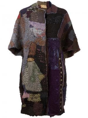 Пальто Chinese Opera By Walid. Цвет: серый