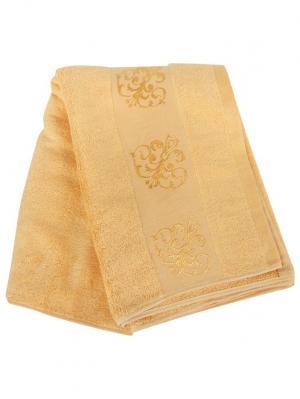 Полотенце бамбук 70х140см bamb-3-d1/4 Cite Marilou. Цвет: оранжевый