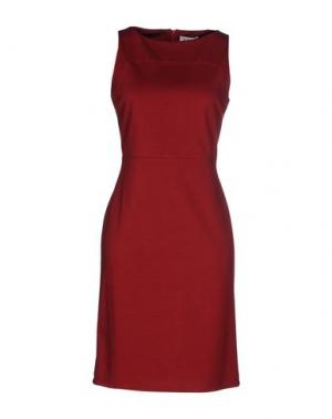 Короткое платье LIST. Цвет: красный