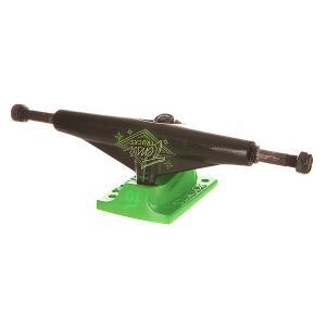 Подвеска для скейтборда  Alum Lo Neon Logo Black/Toxic Green 5.5 (21 см) Tensor. Цвет: зеленый,черный