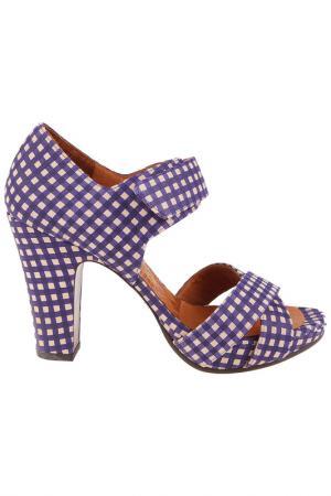Туфли летние Chie Mihara. Цвет: purple