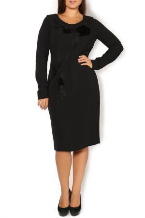 Платье Gai Mattiolo. Цвет: черный