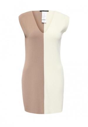 Платье Pennyblack. Цвет: бежевый