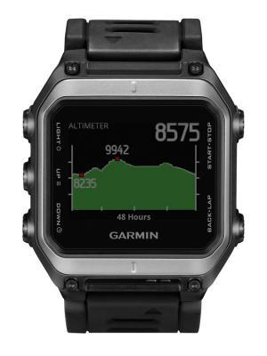 Умные часы Epix наручный навигатор GARMIN. Цвет: черный