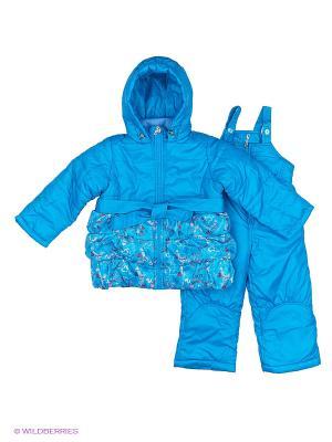 Комплект одежды Милашка Сьюзи. Цвет: бирюзовый