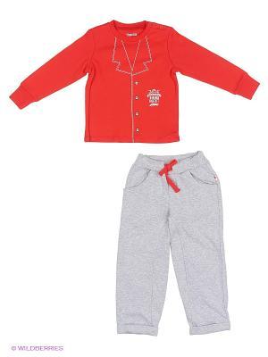 Комплект одежды Free Age. Цвет: красный