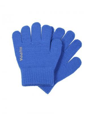 Перчатки LEVI HUPPA. Цвет: голубой
