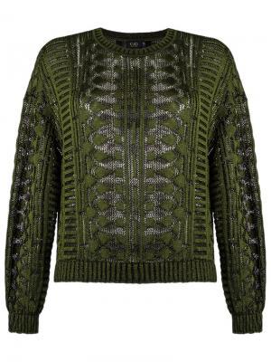Knit jumper Gig. Цвет: зелёный