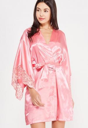 Халат домашний Belweiss. Цвет: розовый