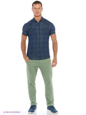 Рубашка Colin's. Цвет: индиго