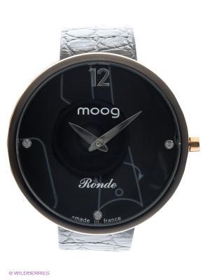 Часы MOOG. Цвет: черный