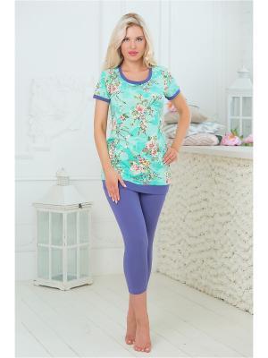 Комплекты одежды Mia Cara. Цвет: бирюзовый, сиреневый