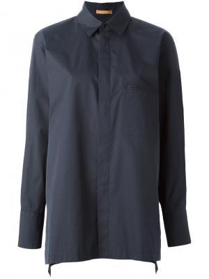 Свободная рубашка Nehera. Цвет: чёрный