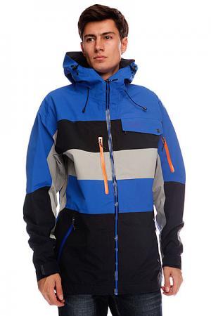 Куртка  Pow Funk Black Royal Trew. Цвет: мультиколор