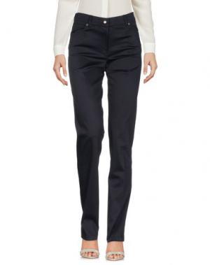 Повседневные брюки KEN BARRELL. Цвет: темно-синий
