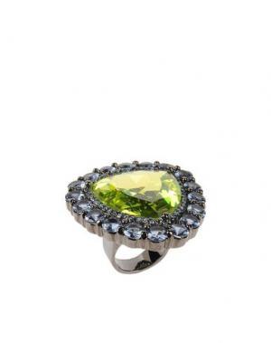 Кольцо NOIR. Цвет: зеленый