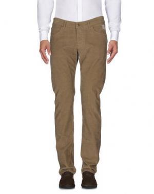 Повседневные брюки ROŸ ROGER'S. Цвет: хаки