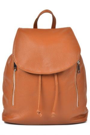 Backpack LUISA VANNINI. Цвет: brown