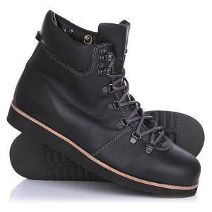 Ботинки зимние  Tim Leath Black Rheinberger. Цвет: черный