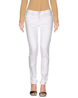 Повседневные брюки LEE. Цвет: белый