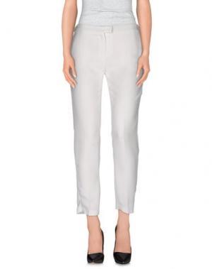 Повседневные брюки ELLA LUNA. Цвет: белый
