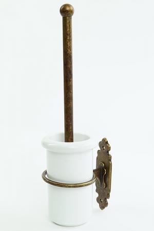 Щеткодержатель керамика Stilars. Цвет: бронза
