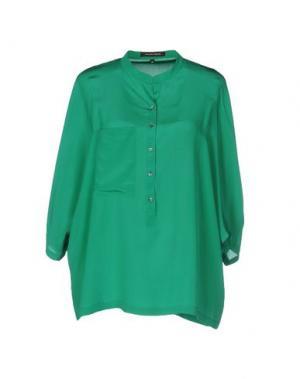 Блузка WALTER VOULAZ. Цвет: зеленый