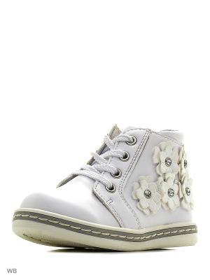 Ботинки PlayToday. Цвет: белый