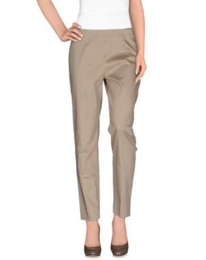 Повседневные брюки MAESTA. Цвет: бежевый