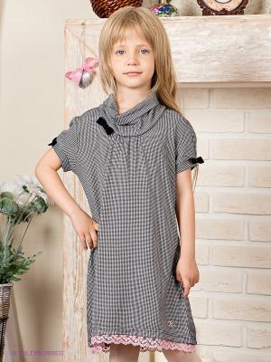 Платье Tutti Quanti. Цвет: серый, розовый, черный