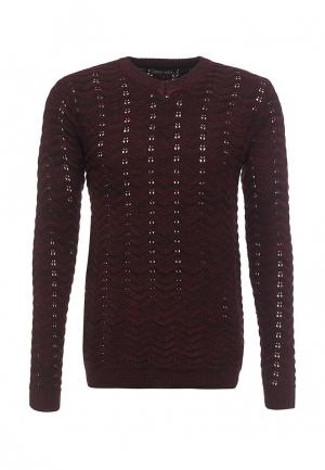 Пуловер Just Key. Цвет: бордовый